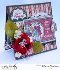 Graphic 45 Christmas Carol - card