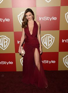 Miranda Kerr's so-sexy Golden Globes after-party dress, by Zuhair Murad
