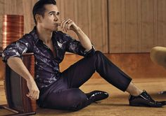Colin Farrell photographed by John Balsom for ICON.