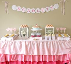"""Sweet As Pie"" Party Theme"