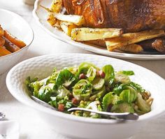 Shredded Brussels sprouts with pancetta | ASDA Recipes
