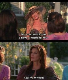 Desperate Housewives, favorite scene Season 5 episode 1