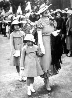 Princesses Elizabeth and Margaret and their mother, then the Duchess of York, in 1936. (topfoto.co.uk)