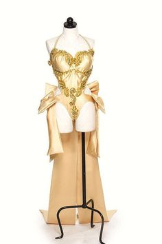 Satin Burlesque Costume by sewshesaidcom on Etsy, $275.00