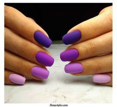 Semi-permanent varnish, false nails, patches: which manicure to choose? - My Nails Cute Acrylic Nails, Cute Nails, Pastel Nail, Diy Ongles, Hair And Nails, My Nails, Nails 2018, Dream Nails, Purple Nails