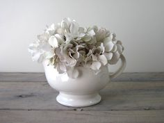 White China Pitcher Server by 22BayRoad on Etsy, $16.00