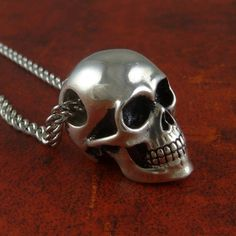 Skull necklace.  Perfect for your local Codman rep!