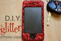 How to make a glitter iPhone case | LHDC-TV
