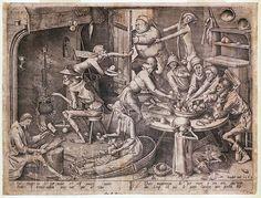 """A. W. Bruegel – """"La cucina magra"""""""