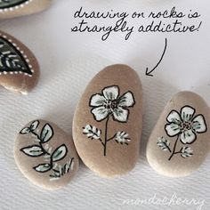 Rock Painting Addiction - I'd rather have this addiction than any other addiction. ヅ