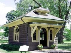 the Luther Burbank Garden Office, my favorite building at Greenfield Village