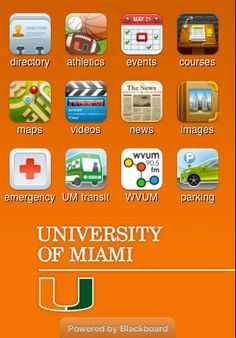 The University of Miami on Your iPhone, iPod touch, iPad or Android™