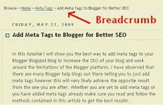 Blogger blog for Tips and Tricks for Better SEO