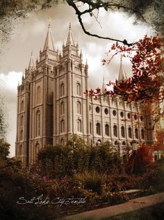 Salt Lake Temple - Framed Legacy...go to the site to see the gorgeous art and frames that this amazing company makes.  Very good quality.  Own a HUGE one of the Ogden Temple that I am in love with.
