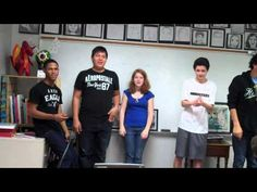 SING the Elements of Art & Principles of Design! Video shows students singing both songs more than once, with actions.