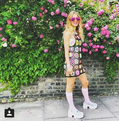 Here's the lovely LuLu Trixabelle in our Lola hearts! Fans, Hearts, Rainbow, Photo And Video, Stylish, Model, Instagram, Dresses, Fashion