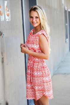 On The Go Summer Dress - The Rage