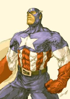 Captain America - Kenneth Loh