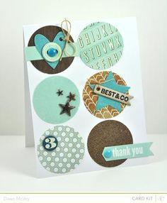 Studio Calico - Spencer's card kit