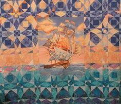storm at quilts | storm at sea quilt