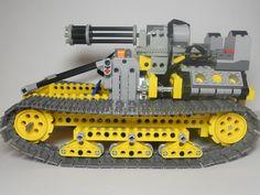 Схемы для сборки LEGO :: Тема: Lego Technic: Tank Dragon v.2 (1/2)