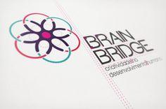 BrainBridge - Branding by Juliana Santos, via Behance