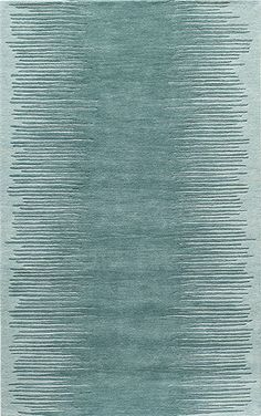 Rug - Delhi DL-63 - Aqua Rug from ModernRugs.com  Category: Modern Masters, Collection: Bauhaus Minimal Design Rugs I, Made In: India, Material: 100% Wool Fiber Quality: Hand Tufted Rug