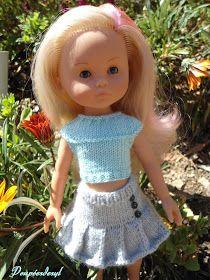 Cela faisait longtemps que je n'avais pas tricoté pour les chéries de corolle. Ces derniers temps les copines bloggeuses nous montraient l...