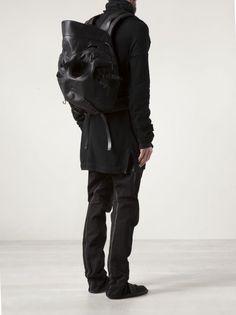 AITOR THROUP - Large Skull Rucksack - SKULL RUCKSACK BLACK - H. Lorenzo