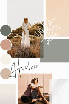 Color Palettes 45880489942876250 - Feminine mood board for a feminine branding client – I love the combinations of pinks, greens, and browns. The color palette is so dreamy, it may be my favorite ever! Source by mareuugaux Mt Design, Anim Gif, Identity, Colour Pallete, Color Palettes, Schmuck Design, Grafik Design, Color Inspiration, Moodboard Inspiration