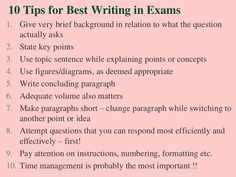 short essay writing tips 10 tips for best writing in exams Essay Writing Service Uk, Essay Writing Tips, Article Writing, Writing Services, Love Essay, Maths Exam, Paper Writer, Topic Sentences, Exams Tips