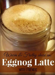 Eggnog Latte #recipe.