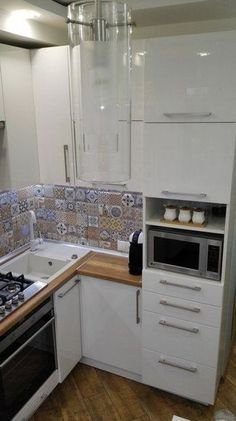 99 Popular French Country Kitchen Decoration Ideas For Home - : - A French country kitchen can be a welcome addition to your home because it offers you the warm feeling of a rustic chateau kitchen. Even if your kitch. Apartment Kitchen, Home Decor Kitchen, Rustic Kitchen, Interior Design Kitchen, New Kitchen, Mini Kitchen, Kitchen Small, Small Kitchens, Kitchen Ideas