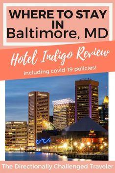 Hotel Indigo Baltimore Review North America Destinations, Travel Destinations, New York Travel, Travel Usa, Hotels And Resorts, Best Hotels, Honeymoon Tips, Hotel Indigo, Photography