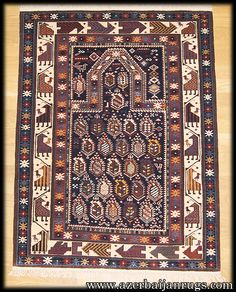 Caucasian Shirvan Marasali Prayer rug