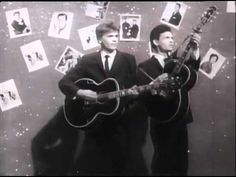 ▶ Everly Brothers - Problems (1958) [Long Version, High Quality Sound, Subtitled] - YouTube