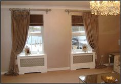 Made to measure curtains to grace your home. Home Curtains, Curtains With Blinds, Swags And Tails, Made To Measure Curtains, Flat Design, Shutters, Home Improvement, Traditional, Contemporary