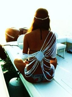 Cool swim suit cover up!