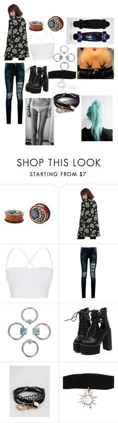 """Skinny Outfit"" by lostboy1217 ❤ liked on Polyvore featuring Theory, Boohoo, Diamond Supply Co., WithChic and ASOS"