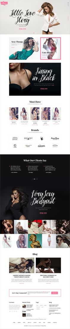 bd5495e5ae1983 Alice is a wonderful 4in1 responsive  WordPress theme for amazing  Lingerie  store and fashion