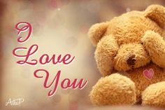 You have made it romantic & passionate. Now make it cute. Try the cutest way to say #ILoveYou with this cute teddy Ecard. www.123greetings.com