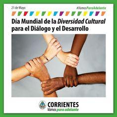 #Hoy Día Mundial de la Diversidad Cultural para el Diálogo y el Desarrollo #VamosParaAdelante