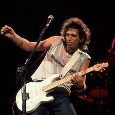 Keith Richards touring with the X-Pensive Winos