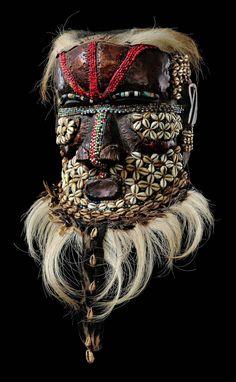 Masque Kuba. Congo.