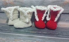 You give them their trim and they suddenly become these adorably sassy little things.   #crochet #handmade #handcrafted #etsy #baby #babyshoes #babygift #babyfeet #babyfashion #babygifts #firstshoes #babyboots #winterboots #autumn #favehandmade #smallbiz #makersvillage #boymom #buydifferently #handmadewithlove #makersmovement #makersgunnamake