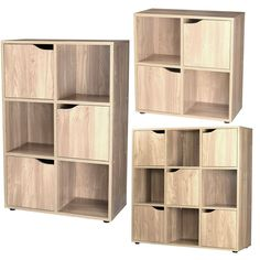 Buy Winchester Low Hallway Unit Soft White Oak Effect At