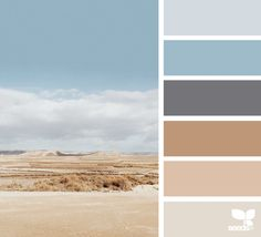 color wander image via in somnia Colour Pallette, Color Palate, Colour Schemes, Beachy Colors, Coastal Colors, Pantone, Room Colors, House Colors, Pebble Color