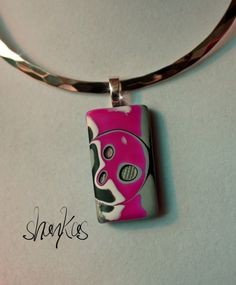 Polymer Clay Pendant THERESA Collection WEARABLE ART by shankas, $15.00