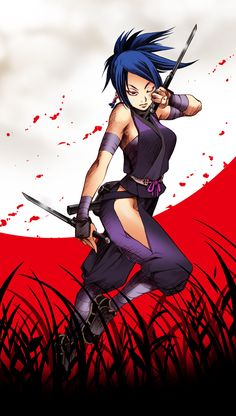 10 Best Ayame Images Kunoichi Ninja Art Female Ninja