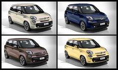 New Fiat 500 L Colors & Bicolor